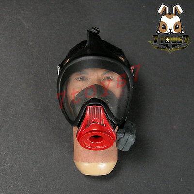 Enterbay Fireman STATION OFFICER Chiu Shawn Yue Head w// Neck 1//6