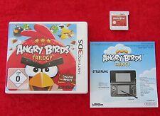 Angry Birds Trilogy, Nintendo 3D 3DS Spiel, Neu jedoch offen, deutsche Version