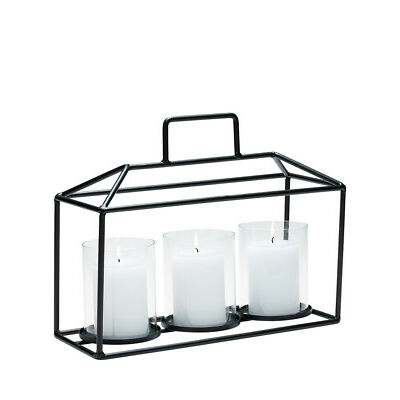 NEW Salt&Pepper Glasshouse Hurricane, 30cm