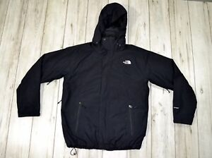 e457abc63 Details about Authentic THE NORTH FACE HYVENT jacket with hood and with  fleece lining size L