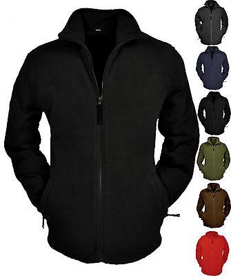 leichte Jacke warme Fleecejacke Brigg Anti-Pilling schwarz
