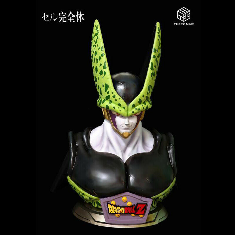39 STUDIOS 1 1 Dragon Ball Z Life-size Cell Bust Resin Statue Limited Edition