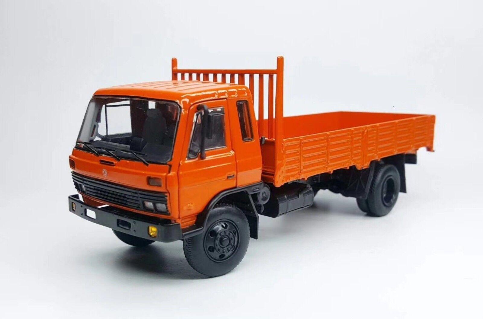 1 43 DFMC EQ140 Dongfeng camion _ 2 Orange Diecast Model