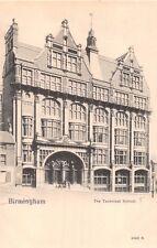 BIRMINGHAM WEST MIDLANDS UK~THE TECHNICAL SCHOOL PEACOCK PLATINO-PHOTO POSTCARD