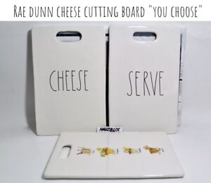 Rae-Dunn-Cheese-Cutting-Board-CHEESE-SERVE-034-YOU-CHOOSE-034-NEW-HTF-RARE-039-18