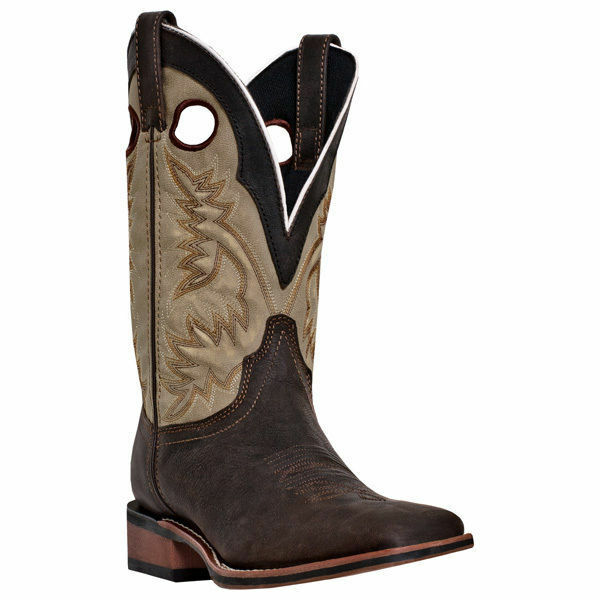Laredo 7886  Men Collared Brown Leather Foot Cowboy Approved Western Boot