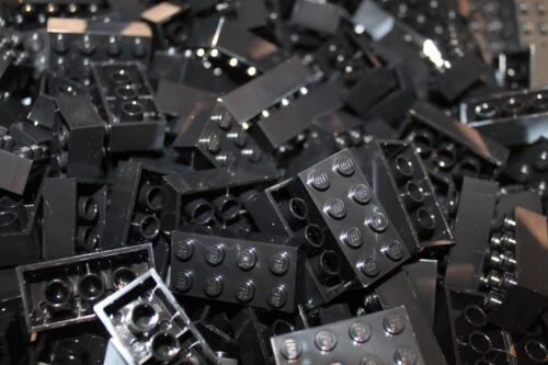 50 x LEGO® Brick 3001 Black NEU in Schwarz Steine 2x4