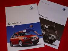 "VW Polo ""Goal"" Sondermodell Prospekt + Preisliste von 2006"