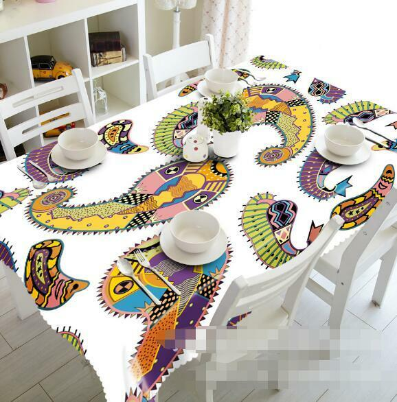 3D Totem 835 Tablecloth Table Cover Cloth Birthday Party Event AJ WALLPAPER AU