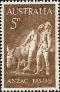 (ref-13186) Australie 1965 Gallipoli Anniversaire 5d Chamois Sg.373 Comme Neuf Neuf Sans Charnière-afficher Le Titre D'origine Facile à Utiliser
