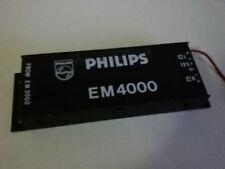 PHILIPS EM 4000 VINTAGE CROSS-OVER - Audio auto d'epoca Sound Buone condizioni