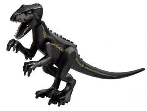 Nuevo LEGO Parque Jurásico Mundo Negro Dinosaurio indoraptor