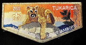 TUKARICA-OA-LODGE-266-ORE-IDA-COUNCIL-2017-JAMBOREE-SMY-DELEGATE-FLAP-FEW-MADE