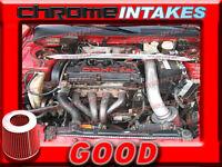 Red 95-99 Mitsubishi Eclipse/eagle Talon 2.0 2.0l I4 Non-turbo Air Intake Kit