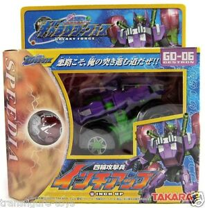 TAKARA-TRANSFORMERS-GALAXY-FORCE-CYBERTRON-GD-06-Inchup-MISC-brand-new