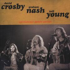 Crosby, Nash & Young - San Francisco Benefit C (Vinyl LP - 2015 - EU - Original)