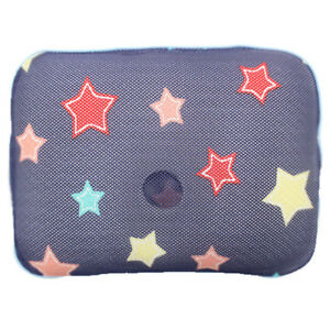 GIO Pillow infant newborn baby Pillow for prevent flat head Yellow Star