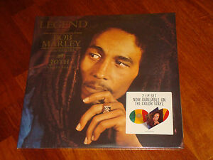 Bob marley legend 30th anniversary tuff gong 2 lp tri color vinyl image is loading bob marley legend 30th anniversary tuff gong 2 altavistaventures
