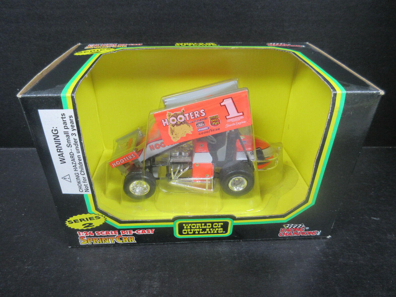 1995 Racing Champions Sprint Car Sammy Swindell -- 1 24th scale Series 2