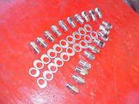 20 Keystone Uni-lug Mag Wheel 3/4 Shank Lug Nuts & Offset Washers,1/2x20 Ratrod,
