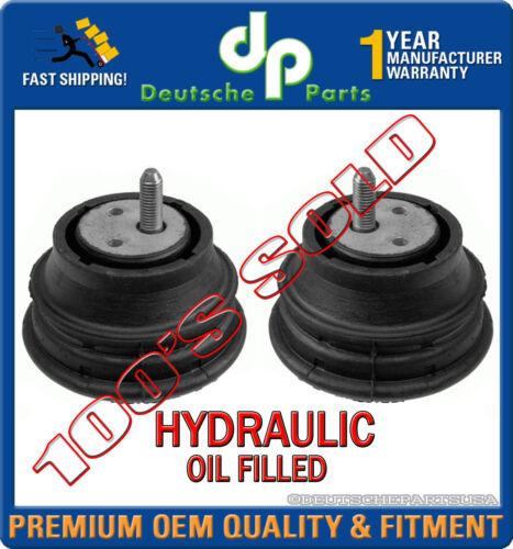 HYDRAULIC Engine Motor Mount Mounts L R  for BMW E39 525i 528i 22116754608 x 2