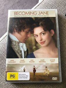 Becoming-Jane-Dvd-And-Hathaway-James-Mcavoy-Maggie-Smith-R4-PAL-LIKE-NEW