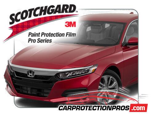 3M Scotchgard Paint Protection Film Pro Series 2018 2019 Honda Accord Sedan