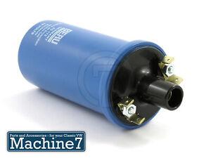 Classic-VW-Beetle-Ignition-Coil-HT-Coil-BERU-Blue-12V-Bug-Camper-T1-T2-Bay-3-Ohm