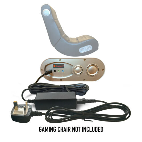 DC 9V Ac Mains Adapter Power Supply Cord for X-Rocker XRocker II Gaming Chair