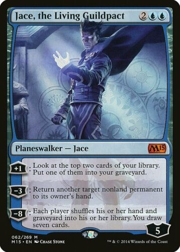 the Living Guildpact Magic 2015 Jace M15 NM Blue Mythic Rare CARD ABUGames