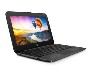 HP-Stream-11-6-034-HD-Intel-N4000-2-6GHz-4GB-32GB-eMMC-Windows-10-11-AH117WM