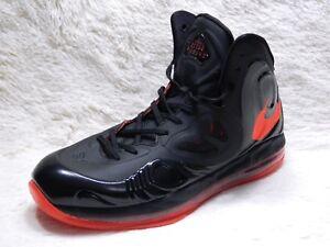a716b7e0b21d Nike Air Max Hyperposite Mens Size 10 Black Red posite Basketball ...