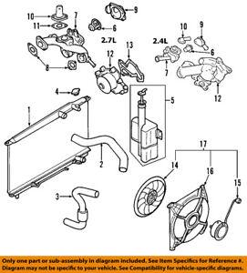 KIA OEM 05-10 Sportage-Engine Coolant Thermostat 2550037200 | eBayeBay