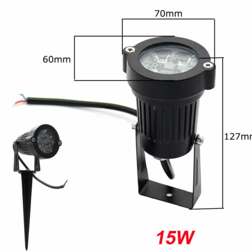 9W 12W 15W Outdoor LED Path Walkway Yard Garden Light  Landscape Flood Lamp IP65