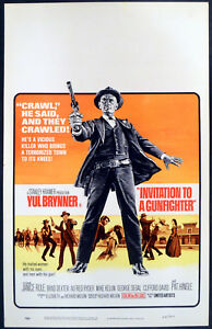 Invitation to a gunfighter 1964 yul brynner janice rule george segal image is loading invitation to a gunfighter 1964 yul brynner janice stopboris Image collections