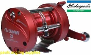 Shakespeare-Left-Hand-LH-Wind-Multiplier-Reel-For-Boat-Fishing-With-Line