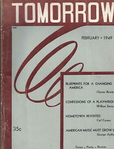 GORE-VIDAL-Tomorrow-Magazine-February-1949-FIRST-PRINT-The-Robin