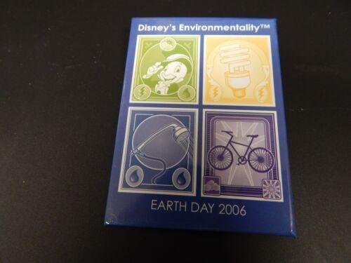 Disney Button Pin Walt Disney World Earth Day 2006