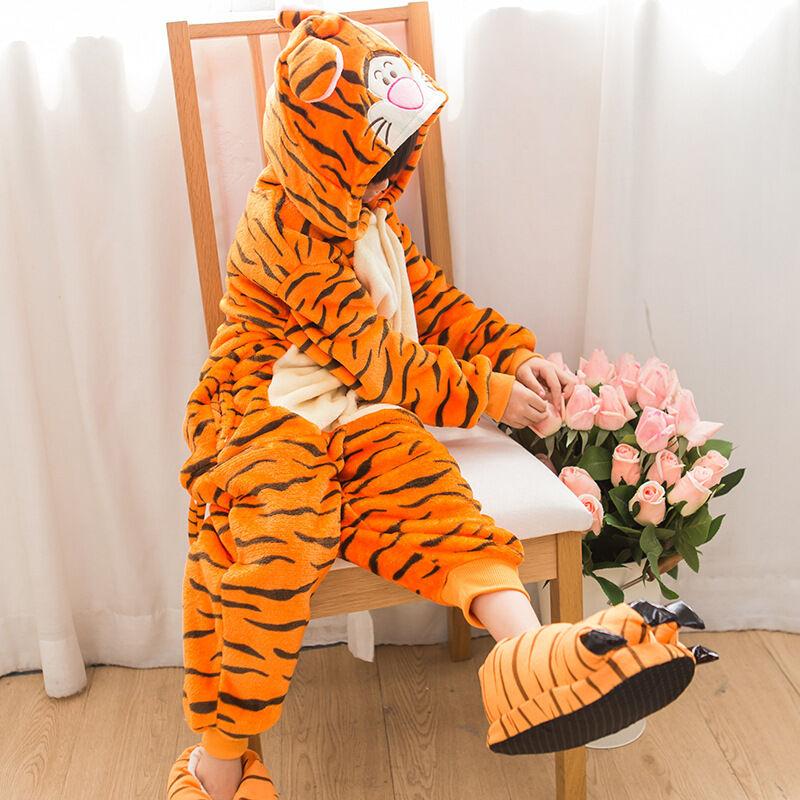Tier Overall Kinder Jungen Cosplay Kostüm Kigurumi Nachtwäsche Pyjama Hausdienst