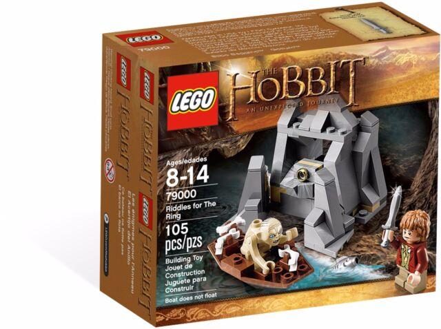 LEGO 79000 LOTR Riddles for the ring - Golen, Bilbo baggins mini figure