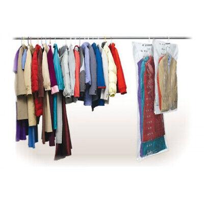 Schneidig 2er Set Hängende Vakuumbeutel Aufbewahrungsbeutel Aufbewahrung Mit Kleiderhaken