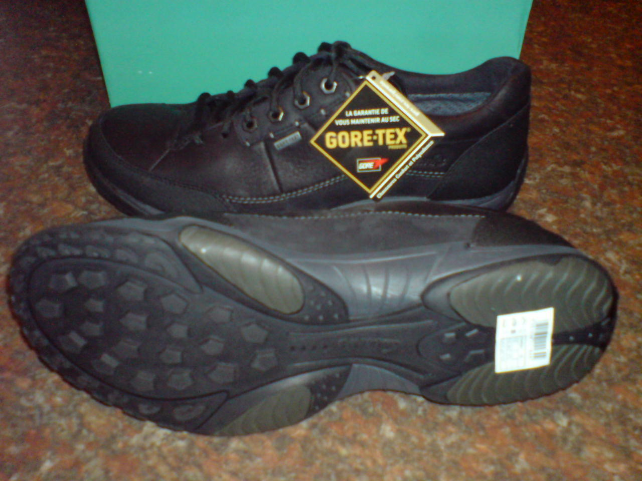 NEU Clarks Herren Kordel Kordel Herren Bild GTX schwarz Schuhe UK 6,5 / True 6 43c081
