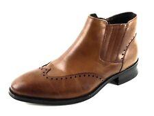 69aa3d06360 Kingsley Stacy Adams Mens Side Zip Wingtip Dress Boot Black 24992 ...