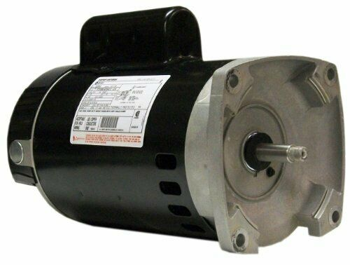 Square Flange Pool   Spa Pump Motor Replacement 3450 RPM - A.O. Smith B2848