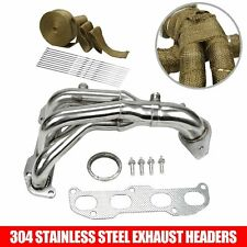 STAINLESS RACING HEADER MANIFOLD//EXHAUST FOR ALTIMA 02-06 2.5 4CYL L31 QR25DE