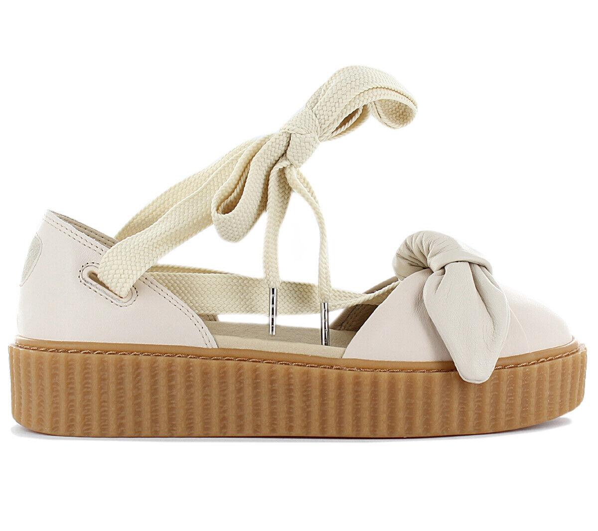 Fenty x PUMA by Rihanna Creeper Bow Donna Sandali 365794-02 Scarpe scarpe da ginnastica Nuovo