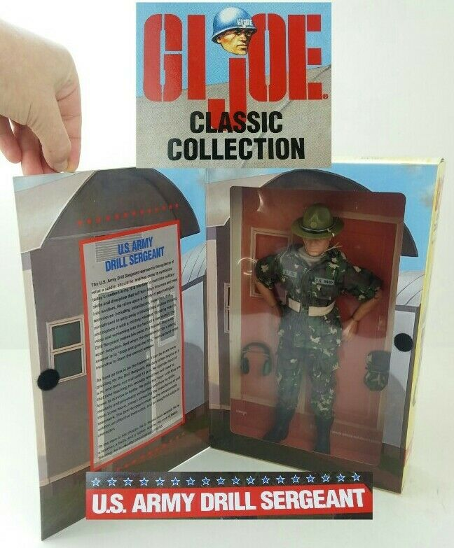 GI Joe 11  Action Figure 1997 US Army Drill Ssilver Classic Collection Limited