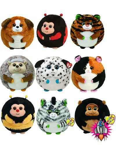 TY BEANIE BALLZ SOFT PLUSH TOY VARIATION REGULAR SIZES NEW WITH TAGS