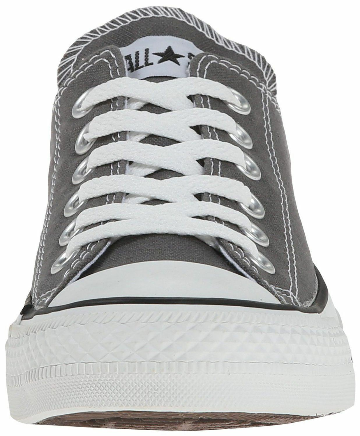 Converse Chuck Taylor Unisex All Star Charcoal Weiß Ox Lo Unisex Taylor Sneakers Schuhe 77d8b9