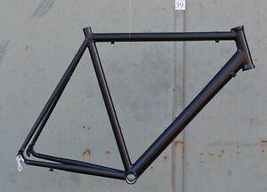 Onroad-Lite-Rennrad-Rahmen-RH-60-cm-in-schwarz-matt-1495g-FUR-NR039